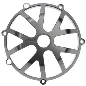SPEEDYMOTO DUCATI CLUTCH COVER - 10 SPOKE - TI GREY