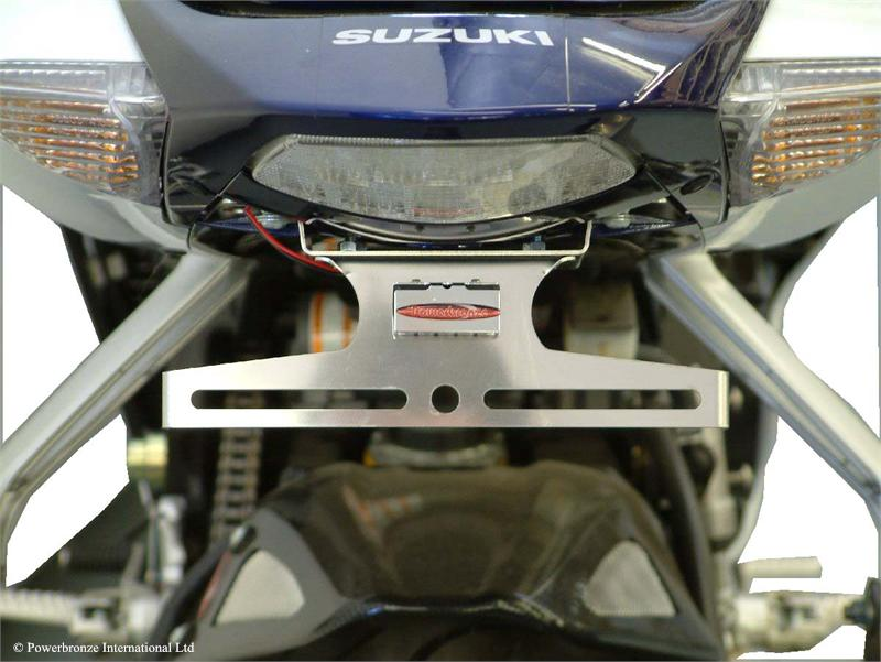 POWERBRONZE SUZUKI GSXR1000 05-06 PLATE AND SIGNAL ELIMINATOR KIT